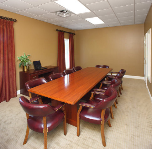 CallahamHicks Funeral Home Photos Conference Room Callaham - Old conference table